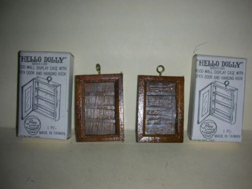 Hello-Dolly-Miniature-Wood-Wall-Display-Cases-9