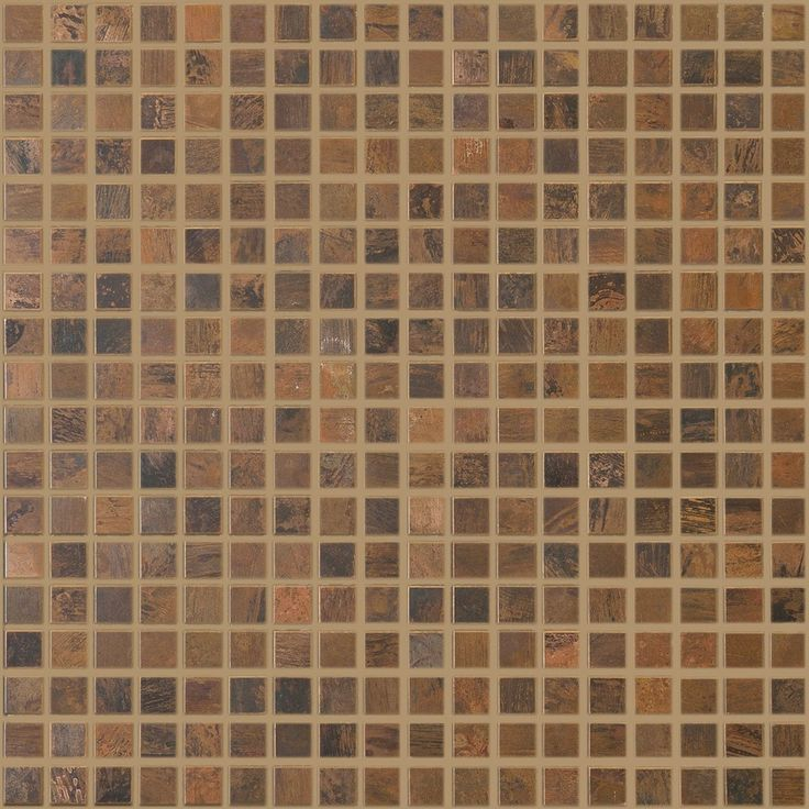Antique Copper Mosaic 5/8 x 5/8