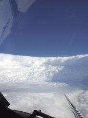 The eye wall of Hurricane Katrina was taken on Aug, 28, 2005, by a NOAA hurricane hunter plane. (Photo: NOAA)