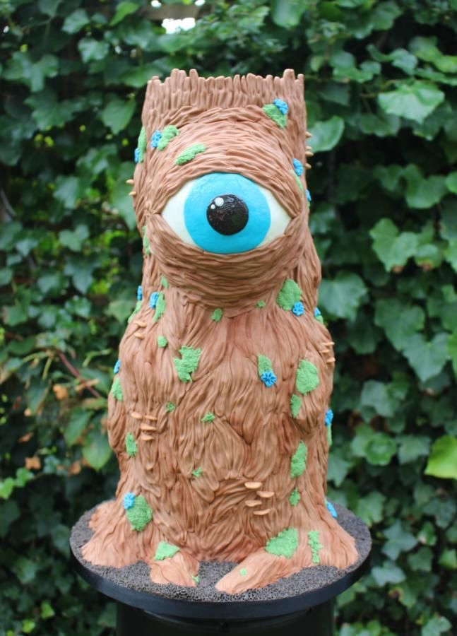 Evil Eye Tree for Fairytale Forest - Cake by Marie's Bakehouse