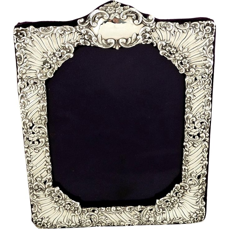 144 best Antique Silver Picture Frames images on Pinterest | Silver ...