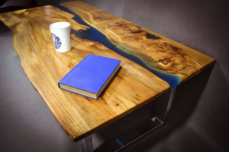 Wood Live Edge Table Resin Google Search Woodworking