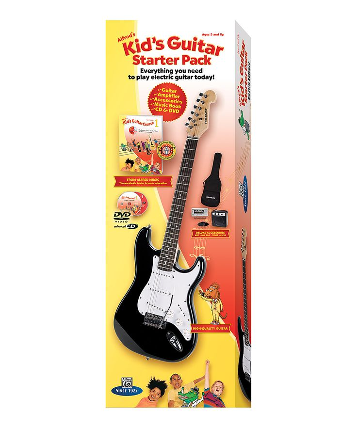 Alfred's Kids' Electric Guitar Course 1 Starter Pack | zulily