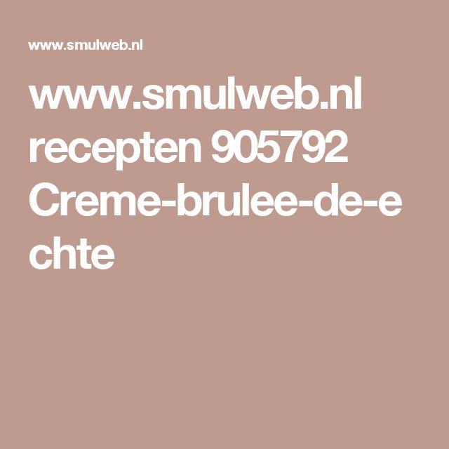 www.smulweb.nl recepten 905792 Creme-brulee-de-echte