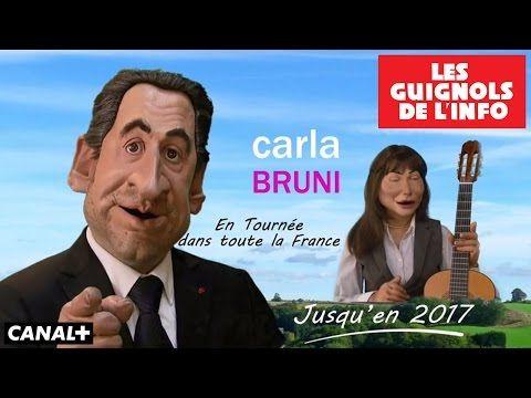 Carla et Nicolas en tournée - Les Guignols de l'Info - YouTube