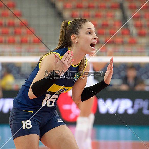Camila Brait of Brazil Volleyball Team   © Mariusz Pałczyński / MPAimages.com
