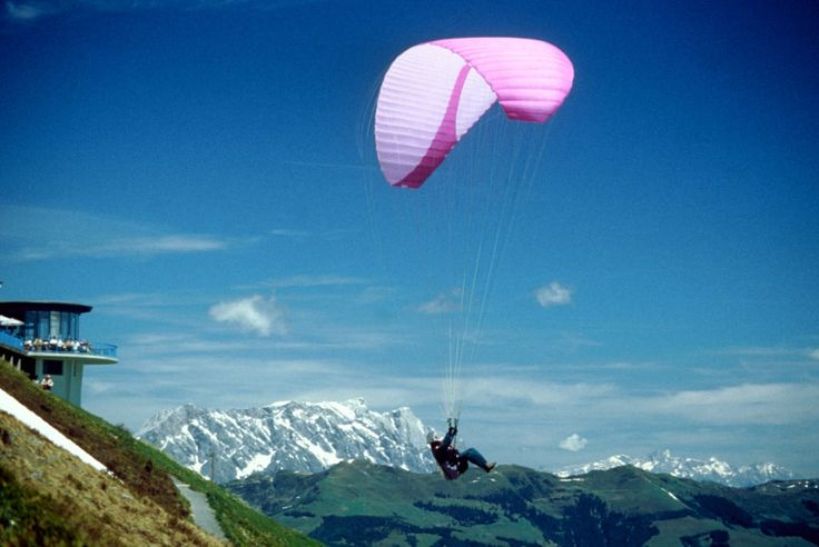Jump off the Mountain with a Paraglide