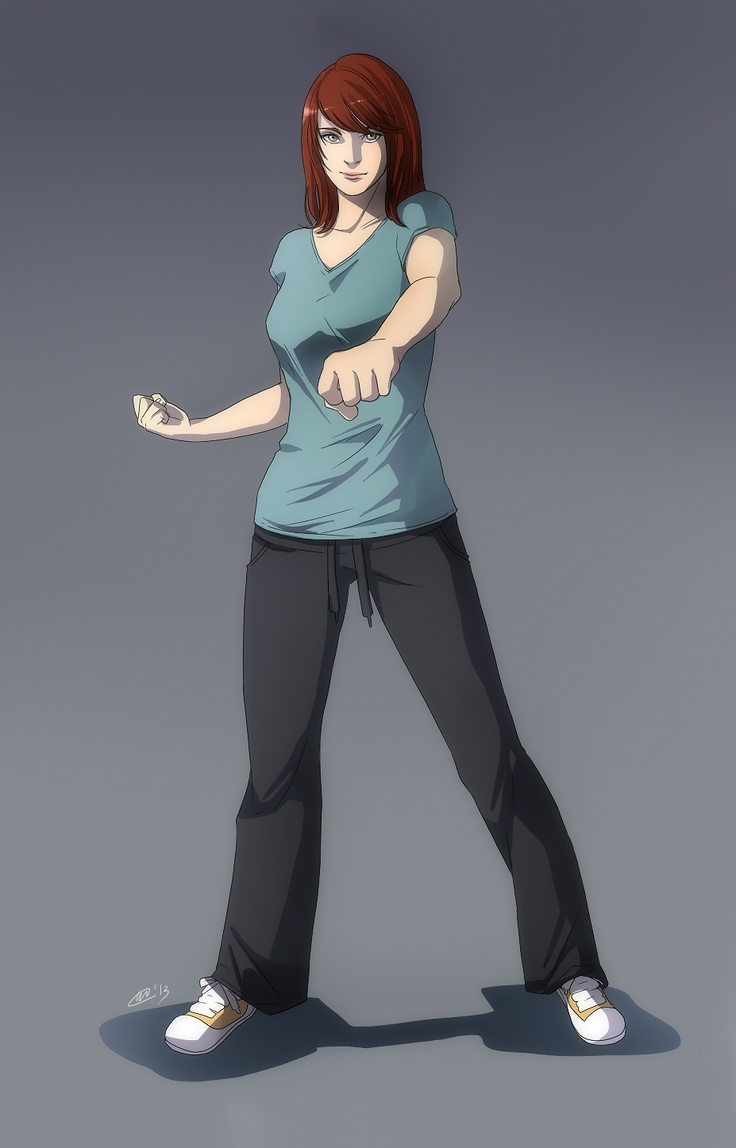 |Commission 1| Moondreamer01 - Rachel Munro by Ihse---ll.deviantart.com on @deviantART    Rachel Munro about ready to punch something!
