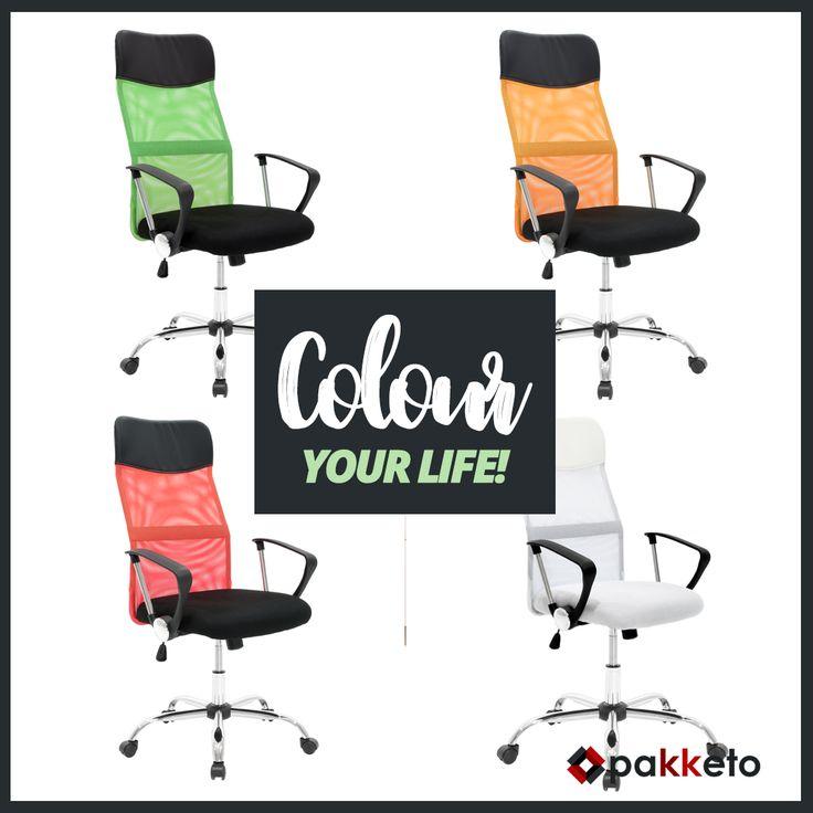Η πολυθρόνα γραφείου διευθυντή Joel είναι από τα best-sellers #pakketo! Προσθέστε χρώμα στο γραφείο σας διαλέγοντας μία από τις 4 προτάσεις: λευκό, μαύρο/πράσινο, μαύρο/κόκκινο, μαύρο/πορτοκαλί. Αποκτήστε τις εδώ http://bit.ly/pakketo_Karekles_Joel