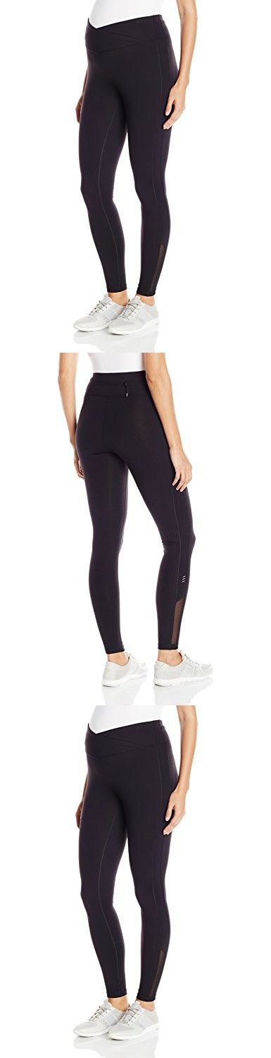 Ripe Maternity Women's Maternity Balance Cropped Leggings, Black, Medium