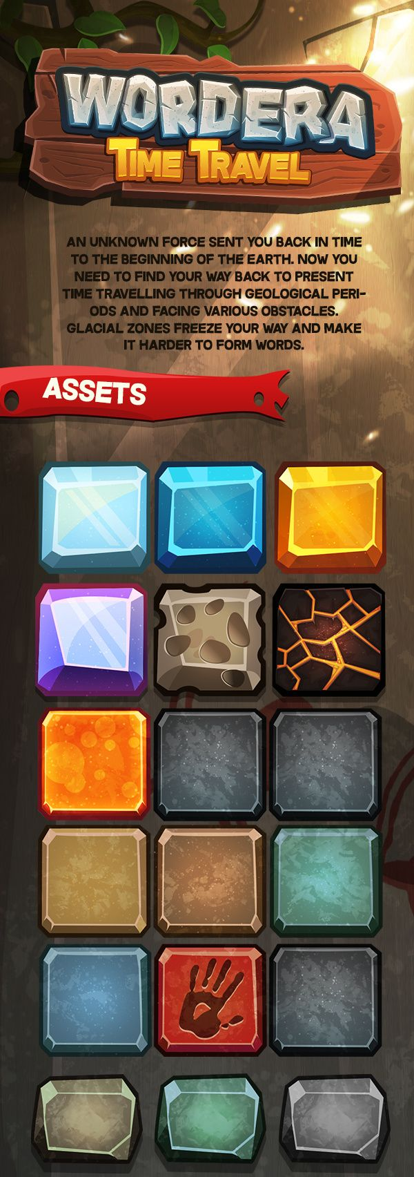 An idea for themed levels, to have the buttons represent different themes