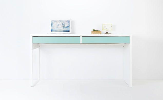 PANYL for IKEA MICKE Desk | PANYL self-adhesive furniture finishes