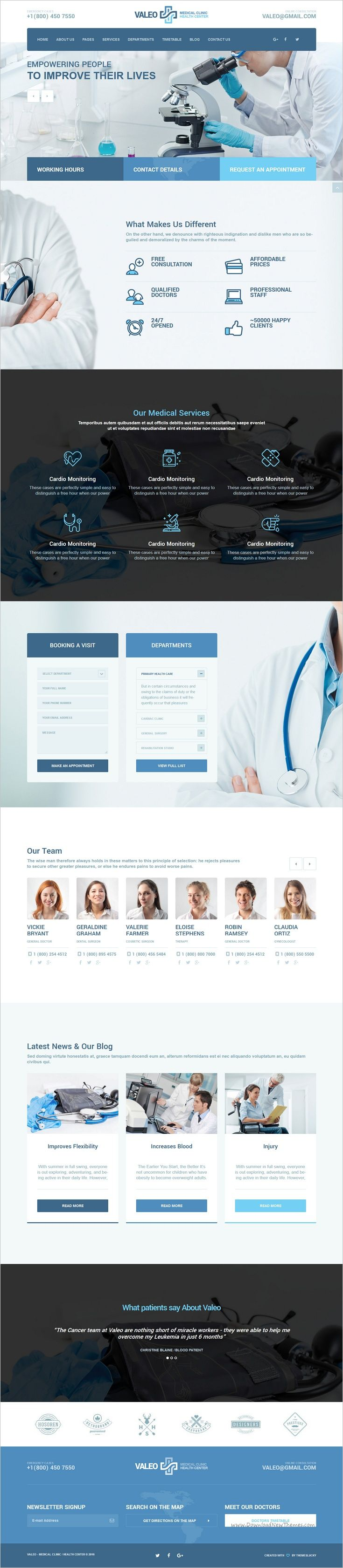 Valeo is a new and modern design responsive #WordPress template for #medical centers, #clinics, #pharmacy website download now➩ https://themeforest.net/item/valeo-health-center-clinic-hospital-wordpress-theme/17966071?ref=Datasata