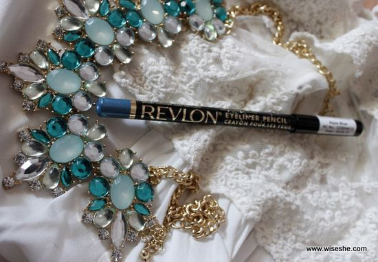 Revlon Eyeliner Pencil 15 Aqua Blue