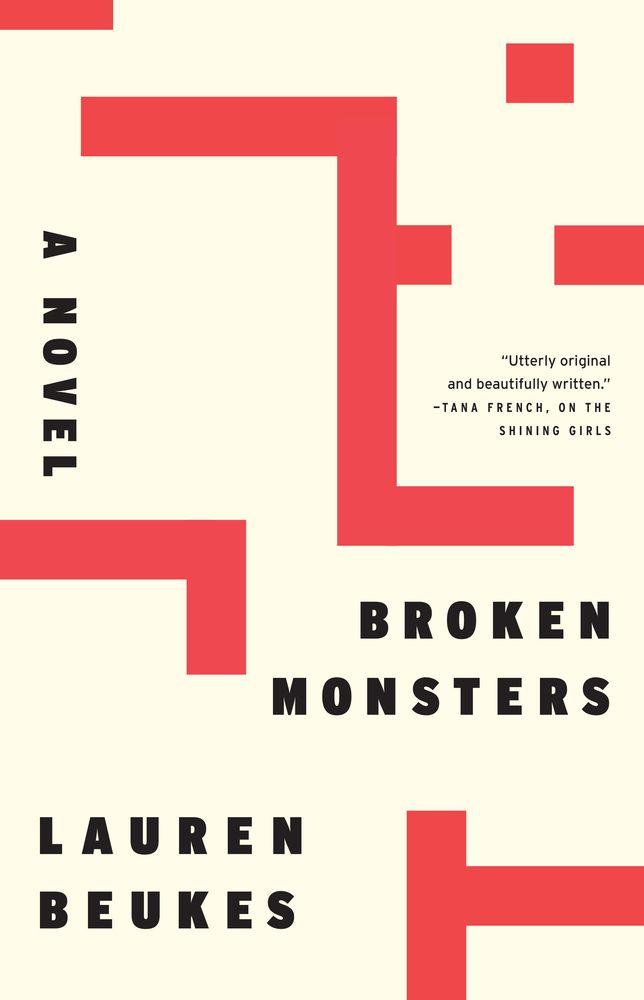 Rejected cover designs for BROKEN MONSTERS by Lauren Beuekes