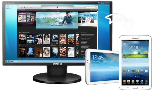 Convert iTunes video to Samsung devices