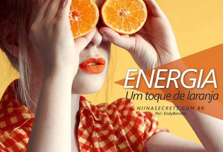 Oi meninas, Quem lembra que eu fiz um post aqui sobre o significado das cores? Eu contei que o laranja significa energia, alegria, senso de humor e divertimento e...