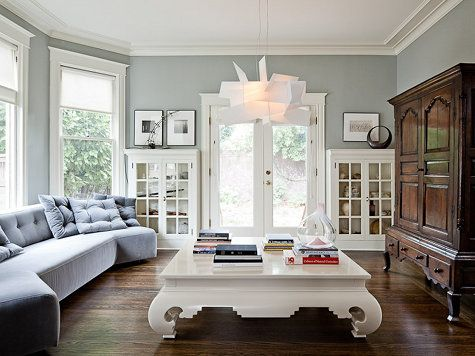 Find This Pin And More On Paint And Accent Wall Ideas By Kellyerwine. Light  Transitional Living U0026 Family Room ...