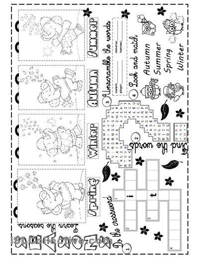 seasons worksheet free esl printable worksheets made by teachers 4 seasons seasons. Black Bedroom Furniture Sets. Home Design Ideas