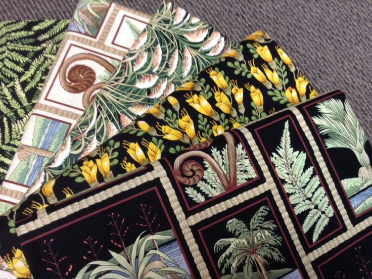NZ themed 100% cotton quilting fabric. Native flora.