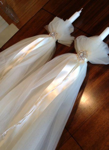 wedding candles - lambades