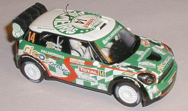 Scalextric car C3523 BMW Mini Countryman WRC for sale