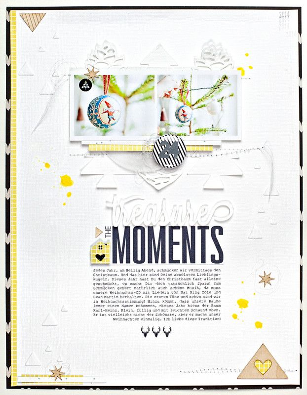 *treasure the moments* by JanineLanger at @studio_calico