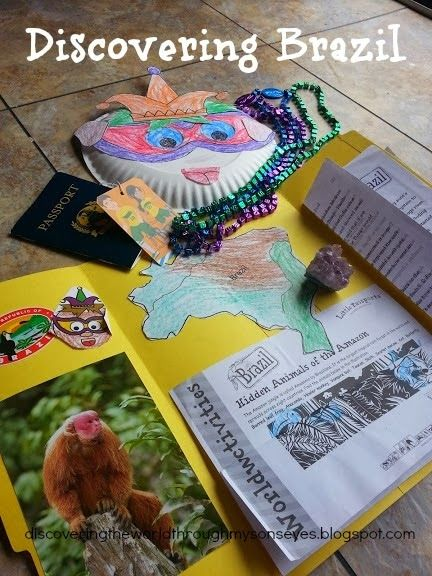 Discovering The World Through My Son's Eyes: Discovering the World with Little Passports - Brazil