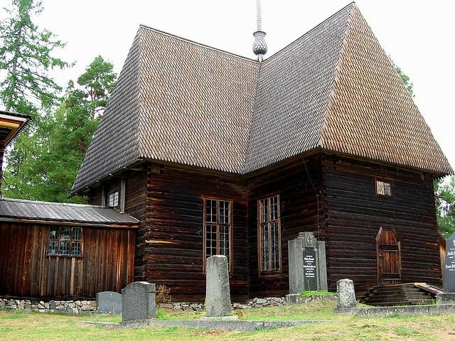 Old church in Petajavesi, Finland