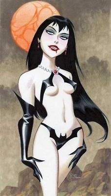 .: Brucetimm, Pinup Ideas, Comic Girls, Dark Comic, Timm Girls, Comics Stripovi, Art, Bruce Timm, Frac Vampirella