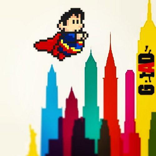 #superman #8bit #colorcity #getads