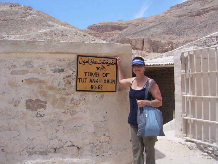 Entrance to Tutankhamen's tomb