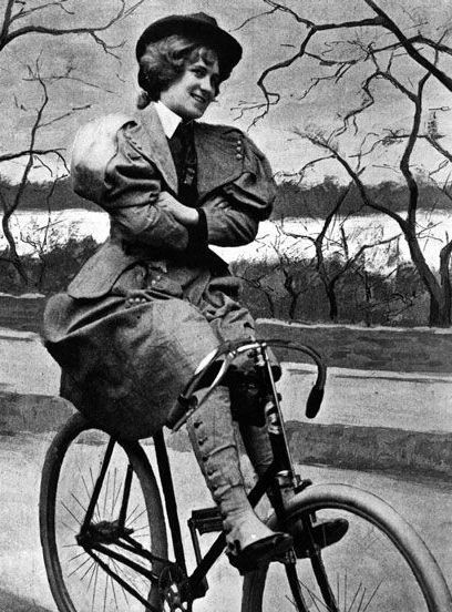 How The Bicycle Liberated Victorian Women & Kick-Started American Feminism+#refinery29