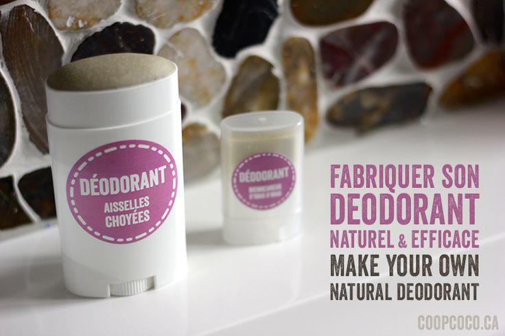 Deodorant naturel / Natural deodorant