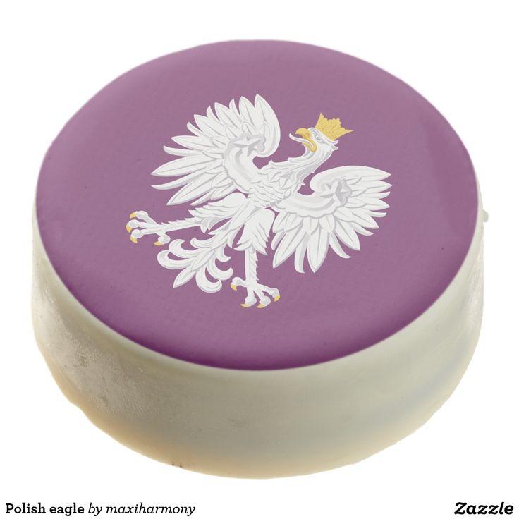 Polish eagle chocolate dipped oreo