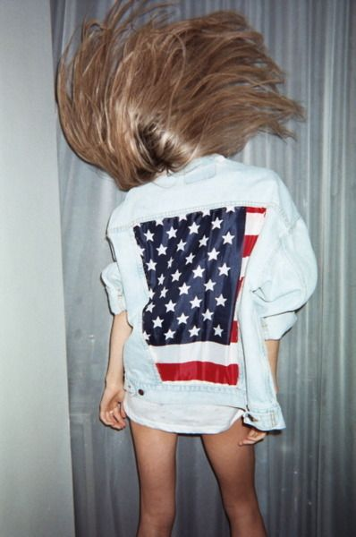 : Fashion, Style, Clothes, American Flag, American Girl, Things, Usa, Hair