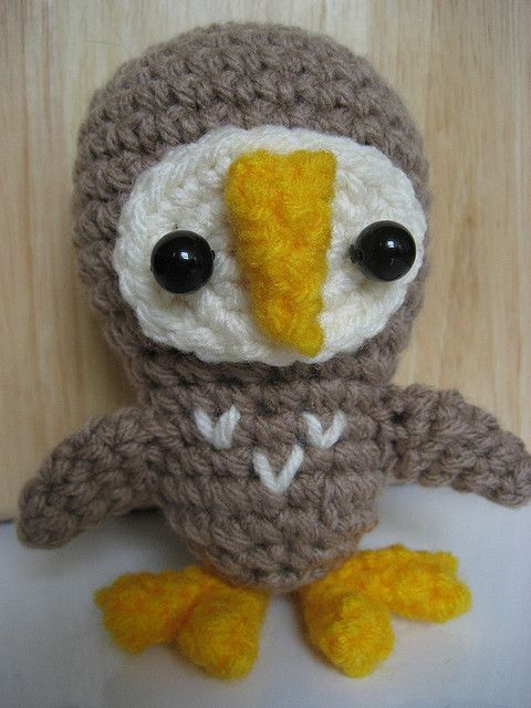 Amigurumi Barn Owl : 1000+ images about Owls on Pinterest Crochet Owls ...