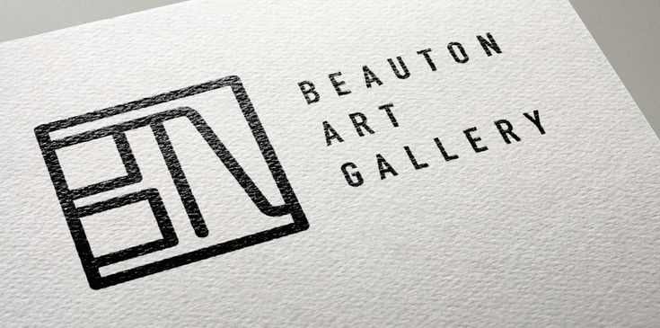 Visual Identity for Beauton art gallery.  See more here: www.mariebrogger.dk