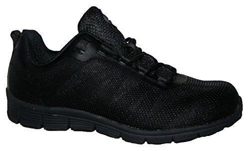 Oferta: 35.77€. Comprar Ofertas de Groundwork Zapatillas de atletismo ultraligeras para hombre con puntera de acero para mayor seguridad , color, talla 45 EU barato. ¡Mira las ofertas!