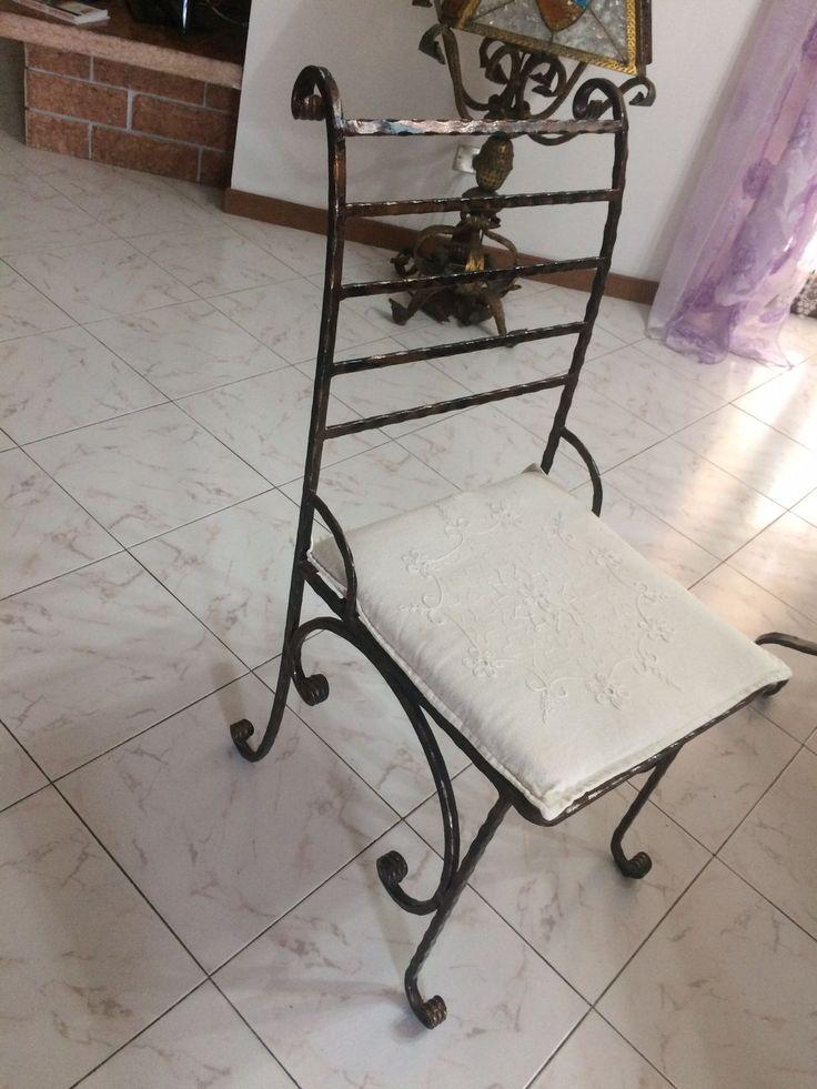Oltre 25 fantastiche idee su tavolo in ferro su pinterest tavoli da stiro lavori di saldatura - Tavolo ferro battuto e vetro ...