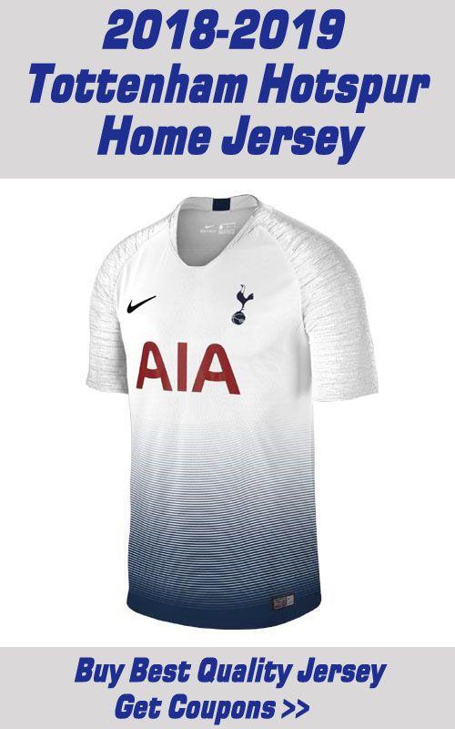 32b6a6a7ada 18 19 Tottenham Hotspur Home Soccer Jersey Shirt