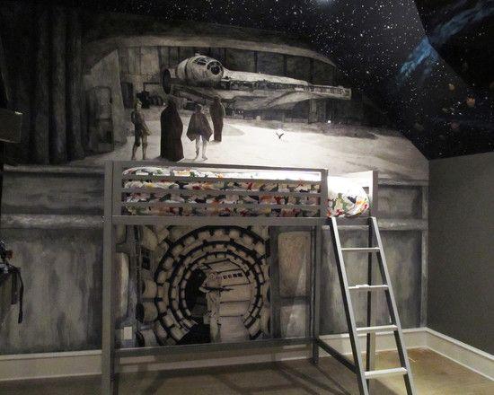 9 best Star Wars home images on Pinterest Starwars Bedroom