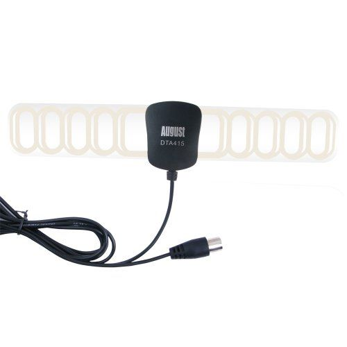 August DTA415 Amplified Freeview TV Aerial - Indoor/Outdoor Digital Antenna with Signal Booster for USB TV Tuner / DVB-T Television / DAB Radio - With Screw Fix Wall Mount and Adhesive Pad has been published to http://www.discounted-tv-video-accessories.co.uk/august-dta415-amplified-freeview-tv-aerial-indooroutdoor-digital-antenna-with-signal-booster-for-usb-tv-tuner-dvb-t-television-dab-radio-with-screw-fix-wall-mount-and-adhesive-pad/