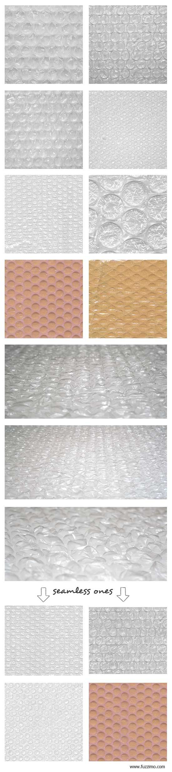 Free Hi-Res Bubble Wrap Textures