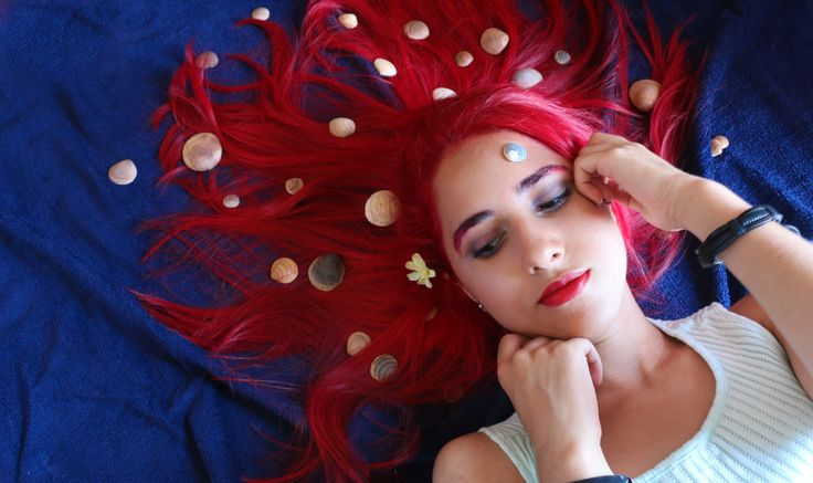 Inspired by Ariel - self portrait - ''Inspired by Ariel'' - self portrait project coming soon on behance!! Stay tuned.