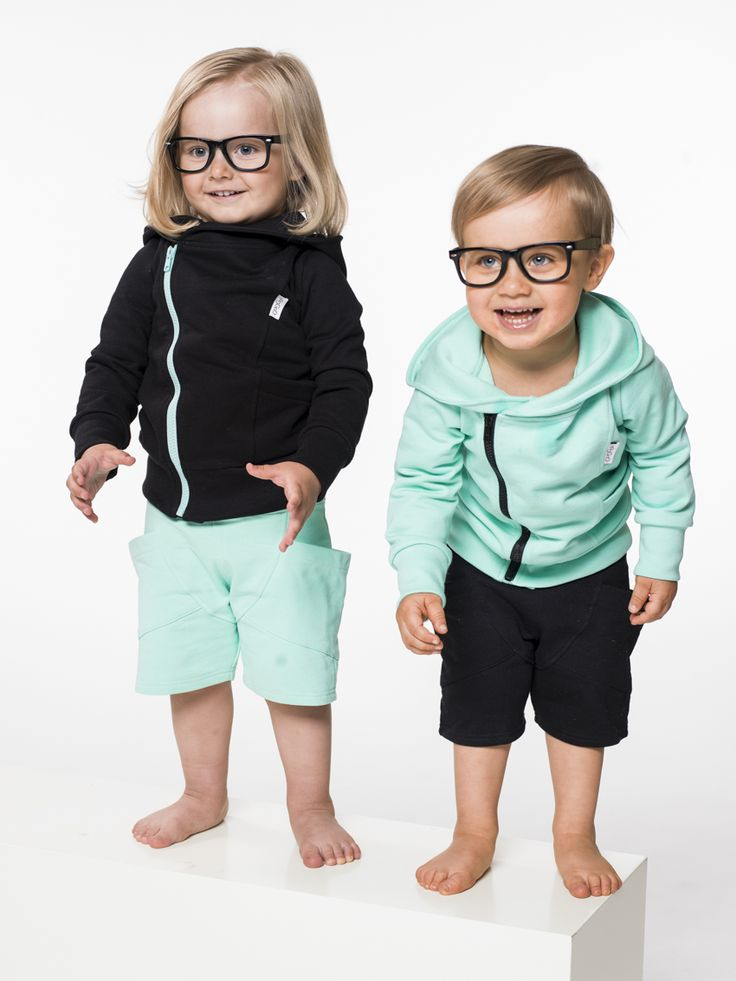 Gugguu, kids fashion, kids style, summer style, pastel clothes, kids clothes, boys style, little boys, little girls, college hoodie, hoodie, baggy, short