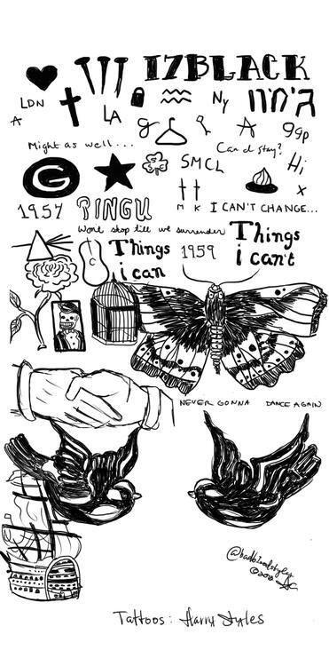 25+ best ideas about Harry styles tattoos on Pinterest ... | 371 x 750 jpeg 62kB