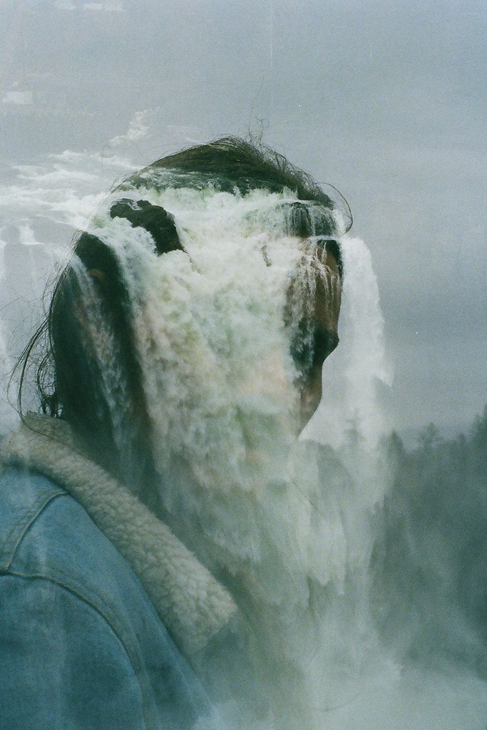 waterfalls: Grace Denise, Double Exposure Photography, Beautiful Waterfalls, Multiple Exposure, Posts, Artists Folk, Image, Art Visual, Creative Inspiration
