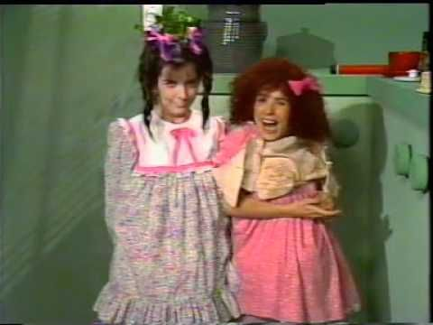 Little Girl with Louise COMEDY Company Australian TV 1988