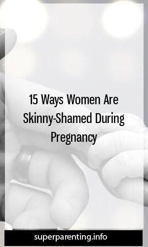 15 façons dont les femmes sont maigres pendant la grossesse  – Being Single Mom!